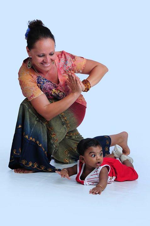 мама малыш Кришна